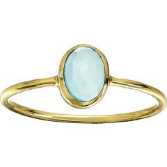 Халцедон овальное каменное кольцо Pura Vida