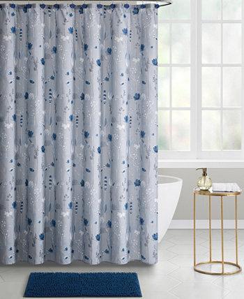 Begonia 14-Piece Shower Curtain Bath Set Seventh Studio