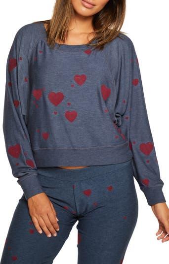 Cozy Long Sleeve Cropped Sweatshirt Chaser