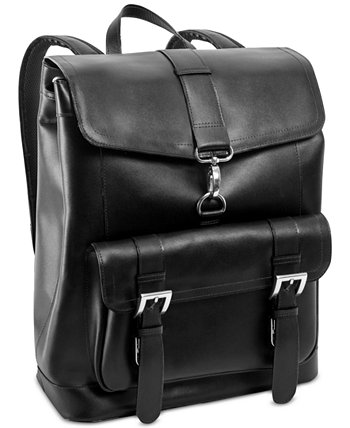 Кожаный рюкзак для ноутбука Hagen McKlein