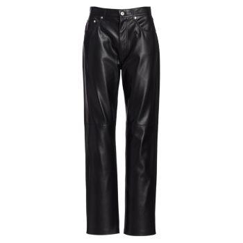 Прямые брюки Vinni Nanushka