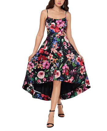 Платье High-Low с цветочным принтом XSCAPE