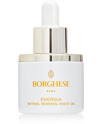 Energia Retinol Renewal Night Oil, 1 эт. унция Borghese