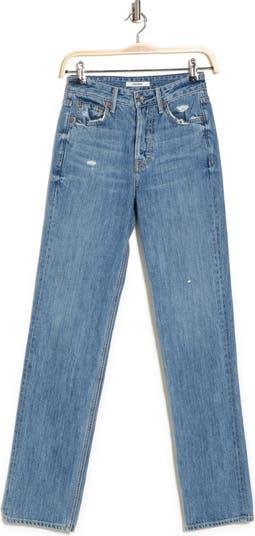Mica High Waisted Straight Leg Jeans GRLFRND