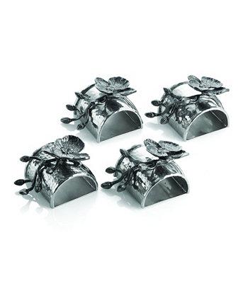 Набор колец для салфеток Black Orchid MICHAEL ARAM