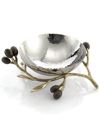 Чаша с золотым орехом и оливковой веткой MICHAEL ARAM