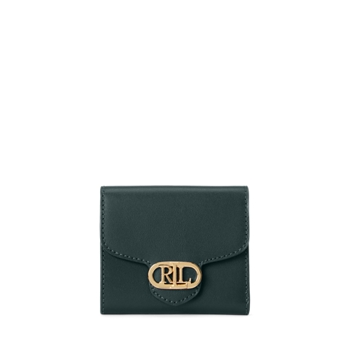 Кожаный компактный кошелек Размер Ralph Lauren