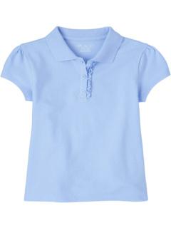 Униформа-поло из пике с оборками (для больших детей) The Children's Place