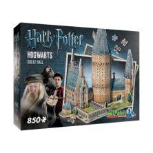 Коллекция Гарри Поттера 850-шт. 3D-пазл Большого зала Хогвартса от Wrebbit Wrebbit