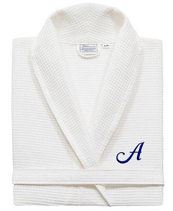 Текстиль Турецкий хлопок Персонализированный халат унисекс с вафельным переплетением Linum Home