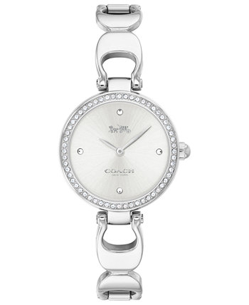 Женские часы Park из нержавеющей стали с браслетом 26 мм COACH