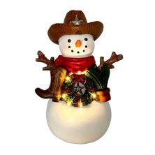 St. Nicholas Square® LED Cowboy Snowman Table Decor St. Nicholas Square