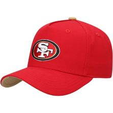 Youth Scarlet San Francisco 49ers Pre-Curved Snapback Hat Outerstuff