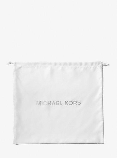 Плетеный мешок для пыли с большим логотипом Michael Kors