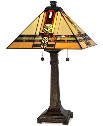 Металлическая настольная лампа Palo Mission Dale Tiffany