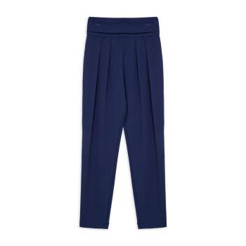 Girl's High-Waist Pleated Pants Habitual