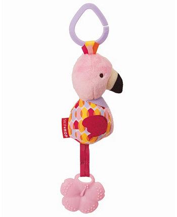 Игрушка-прорезыватель Bandana Buddies Chime - Flamingo Skip Hop