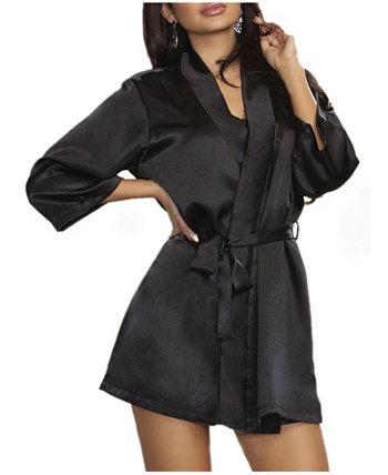 Женский ультрамягкий атласный халат для отдыха и у бассейна ICollection