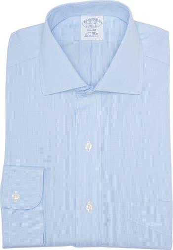 """Рубашка Regent Fit с длинными рукавами и принтом """"гусиные лапки"""" Brooks Brothers"""