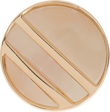 Круглое кольцо-печатка из смолы Nordstrom Rack