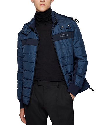 Мужская водоотталкивающая куртка стандартного кроя BOSS BOSS Hugo Boss