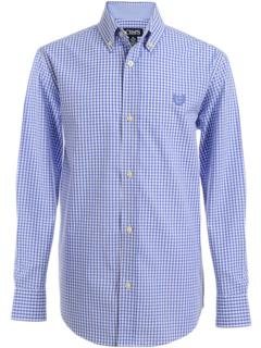 Тканая рубашка с длинным рукавом и эластичной тканью CHAPS