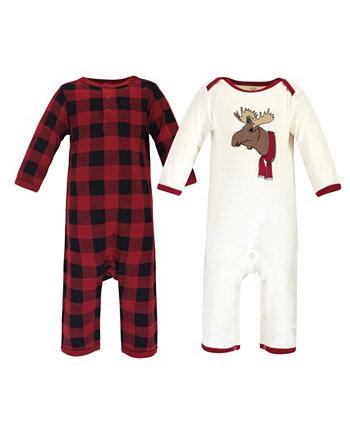 Семейные праздничные пижамы для маленьких мальчиков и девочек Touched by Nature
