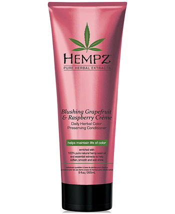 Blushing Grapefruit & Raspberry Crème Herbal Color Preserving Conditioner, 9-oz., from PUREBEAUTY Salon & Spa Hempz
