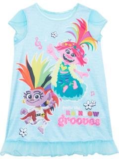Платье для сна Feelin 'The Rainbow Grooves Trolls World Tour (для маленьких и больших детей) Favorite Characters