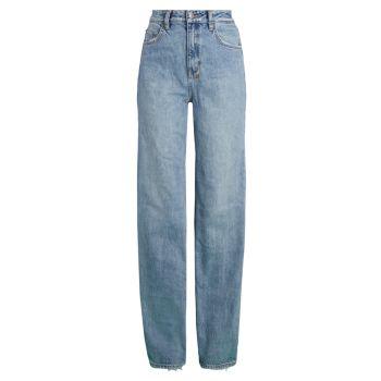 Прямые джинсы Playback Karma с высокой посадкой Ksubi