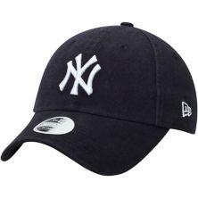 Женская регулируемая шляпа New Era Navy New York Yankees Core Classic Twill Team Color 9TWENTY New Era