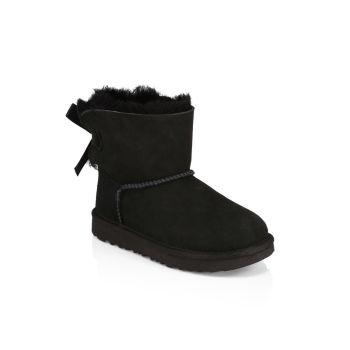 Маленькая девочка & amp; Ботинки для девочек Mini Bailey Bow UGG
