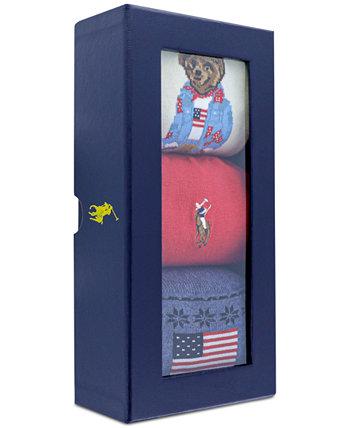 3-п. Носки в коробке Ralph Lauren