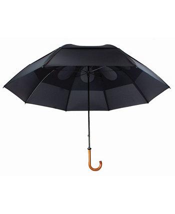 Элегантный роскошный зонт с защитой от ветра и двойным навесом GUSTBUSTER