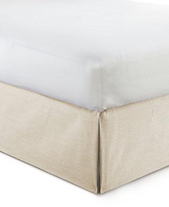 Юбка-кровать Cambric Vanilla 15 дюймов - Полная Colcha Linens
