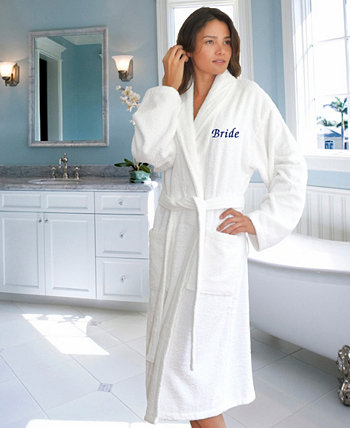 Махровый халат с вышивкой «Невеста» Linum Home
