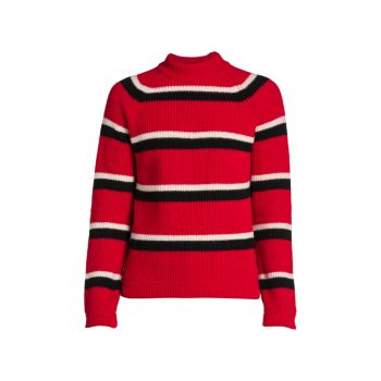 Ribbed Striped Sweater MARNI
