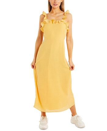 Макси-платье с оборками Quiz