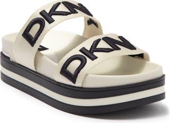 Double Band Slide Sandal DKNY