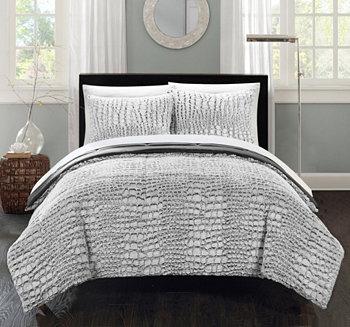 Комплект одеял Queen из 3 предметов из кожи аллигатора Chic Home