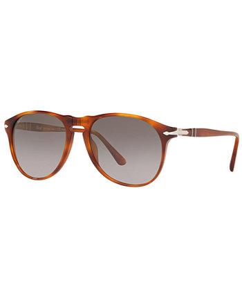 Поляризованные солнцезащитные очки, PO6649S 55 Persol