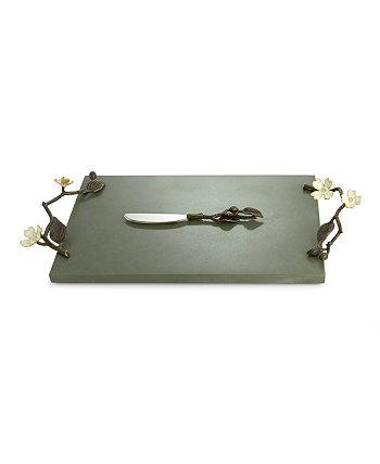 Доска для сыра из кизила с ножом MICHAEL ARAM