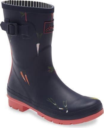 Принт Molly Welly Rain Boot Joules