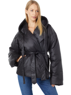 Пальто для спального мешка с капюшоном, короткое Norma Kamali