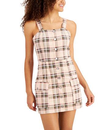 Джинсовое платье в клетку для юниоров Tinseltown