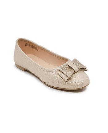 Маленькие и большие девочки балетная плоская классическая обувь Sugar