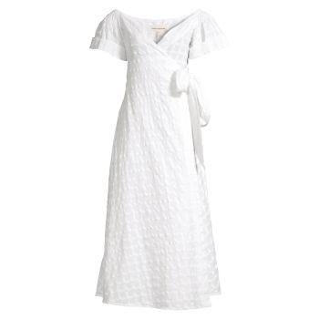 Платье Adelina с запахом Mara Hoffman