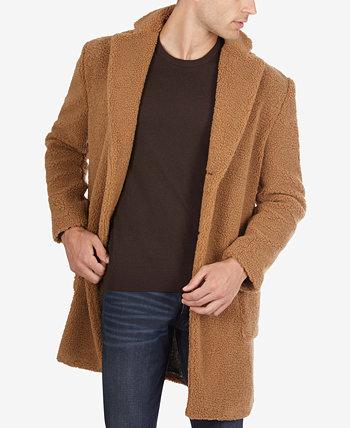 Мужское пальто из шерсти верблюжьей шерсти Tallia