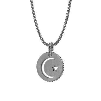 Ожерелье с подвеской Talismans из нержавеющей стали Tateossian