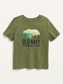 Футболка с логотипом для маленьких мальчиков Old Navy